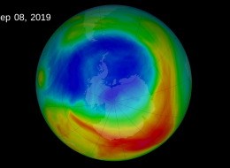 Ozone Depletion on earth