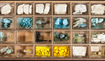 Drawer no. 10 of the Hafkenscheid Collection